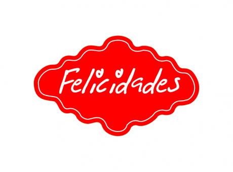 ETIQUETA DEC MILLE REF 035 FELICIDADES C100
