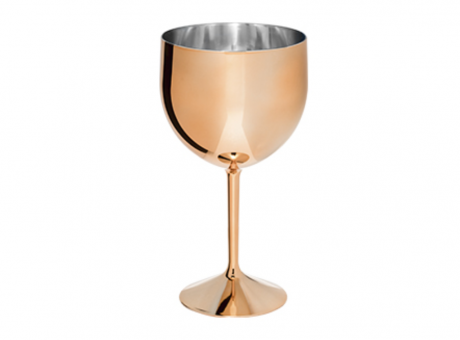 COPA GIN SHELBY 550ML METAL ROSE