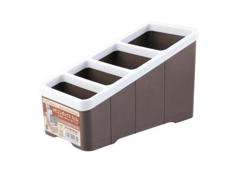 PORTA CONTROL REMOTO BOX MARRON