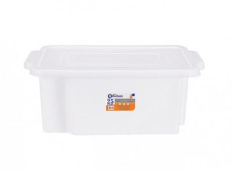 CAJA PLASTICA CON TAPA 25 LTS R.3755 RISCHIOTO/3755