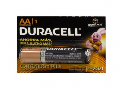 PILA UNIDAD AA DURACELL MN1500B1
