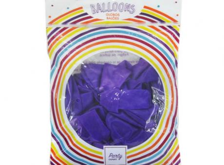 GLOBO LATEX 25P PURPURA