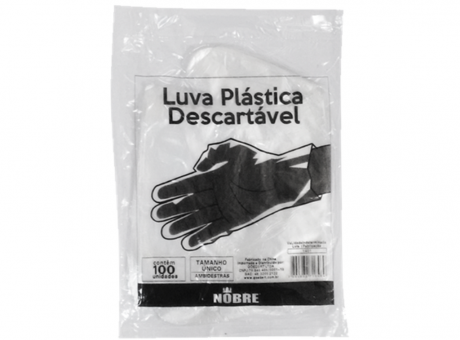 GUANTE PLASTICO DESCARTABLE C100