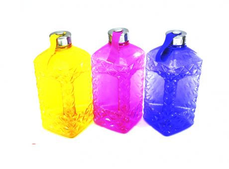 BOTELLA PLASTICA COLORES SURTIDOS 2,2 LTS.  AL-3541
