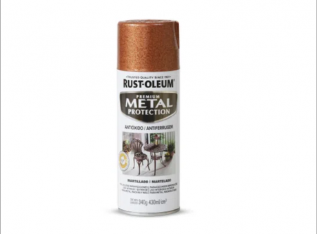 PINT. METAL PROTECTION COBREMARTILLADO340g