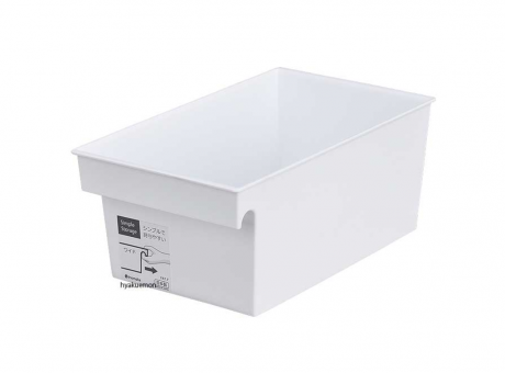 SIMPLE STORAGE ORGANIZADOR WIDE BLANCO