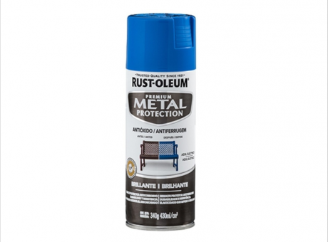 PINT. METAL PROTECTION AZUL ELECTRICOBRILLANTE 340g