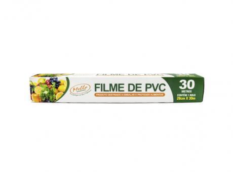 FILME DE PVC 28CM X30M CX 25 UNID MELLO